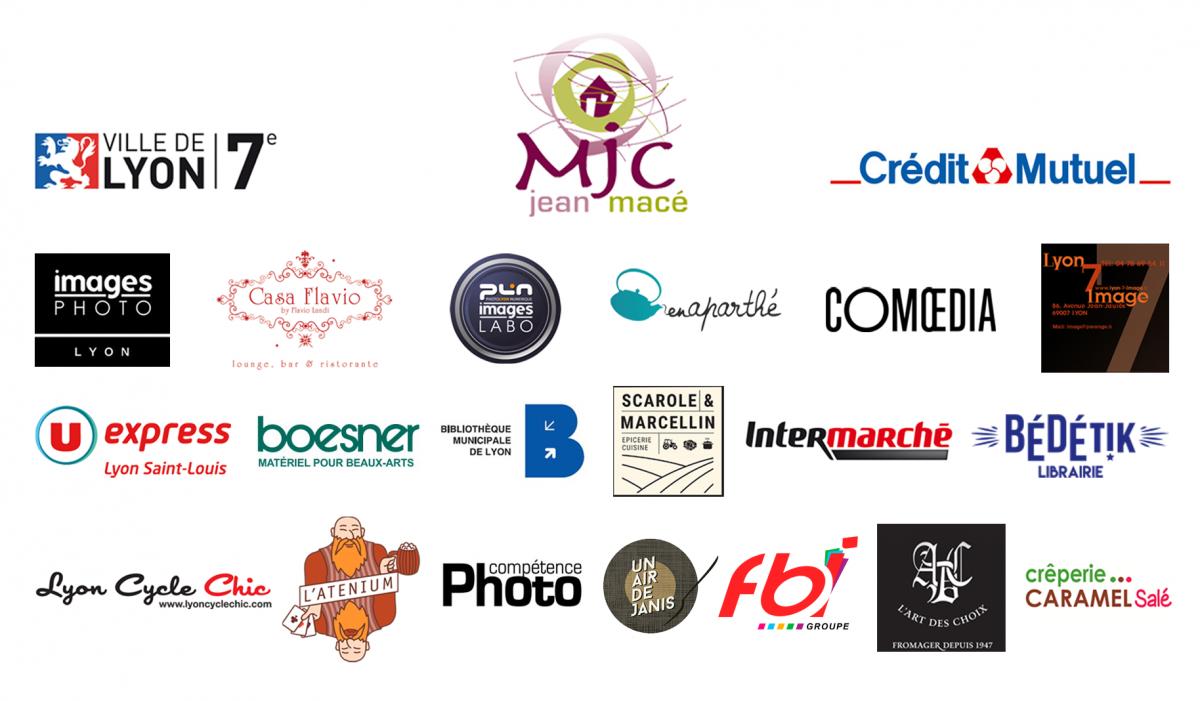 Logos des partenaires du Marathon Photo 2021